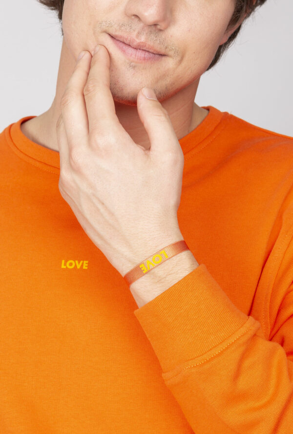 Sweat personnalisable à message Love - pour Homme et femme