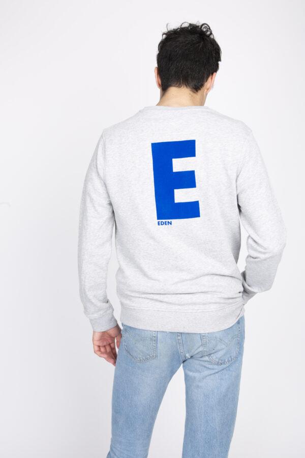 Sweat personnalisable à message Eden - pour Homme et femme