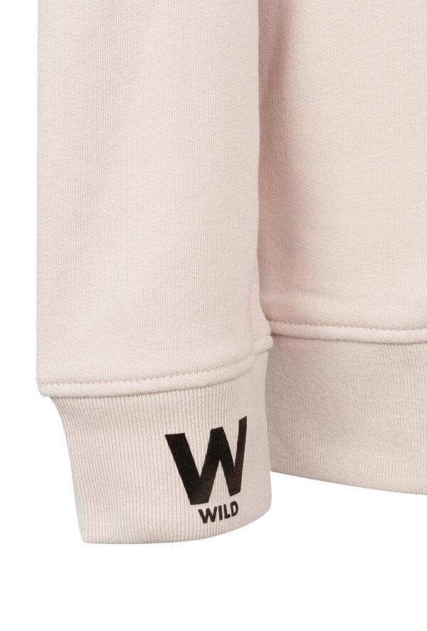 Sweat personnalisable à message Wild - pour Homme et femme
