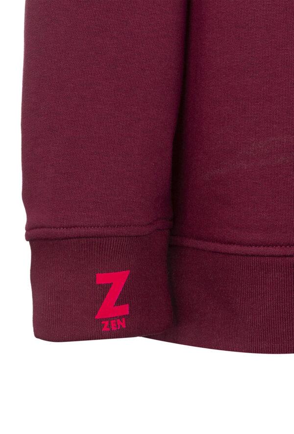 Sweat à capuche personnalisable à Message Zen - Pour Homme et pour Femme