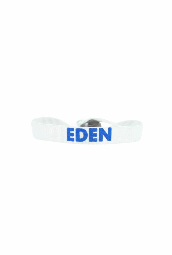 bracelet stretch unisexe ajustable et waterproof Eden gris et bleu- unisexe - bijou ajustable et waterproof