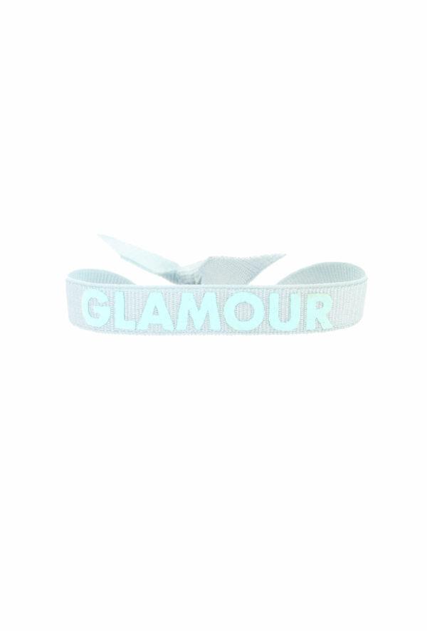 bracelet stretch unisexe ajustable et waterproof Glamour bleu - unisexe - bijou ajustable et waterproof