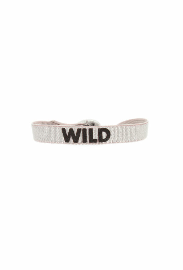 bracelet stretch unisexe ajustable et waterproof wild rose et marron