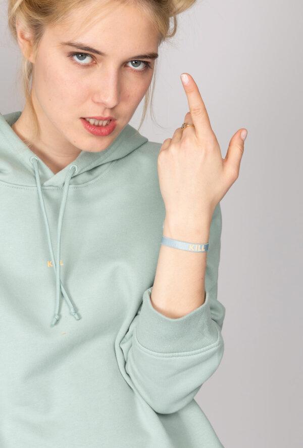 Sweat à capuche personnalisable à Message Kill - Pour Homme et pour Femme
