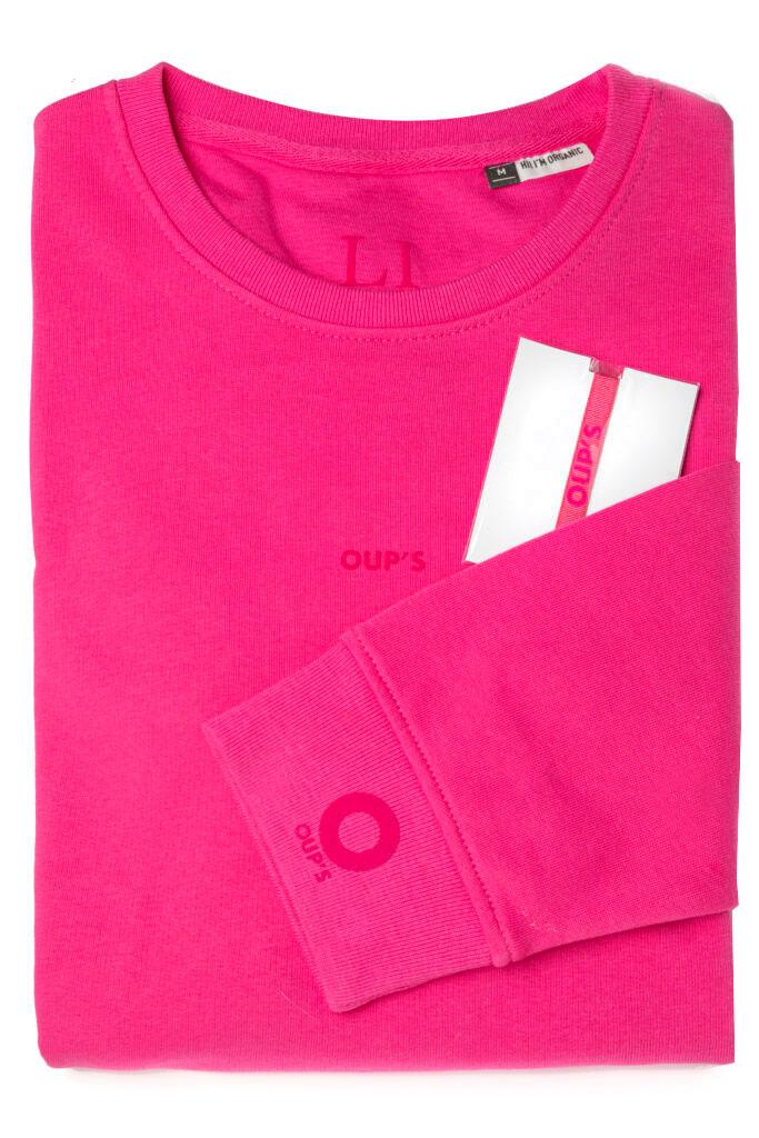 packaging sweat abécédaire personnalisable Li - unisexe, en coton organique et colorés